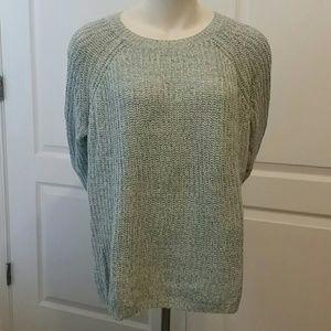 Blue knit sweater. Faded Glory Size XXL